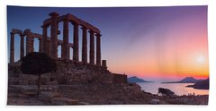 Cape Sounion Beach Towel