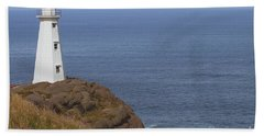 Cape Spear Beach Sheet by Eunice Gibb