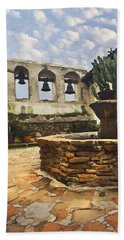 Capistrano Fountain Beach Towel