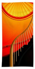 Capital Stairs Beach Towel