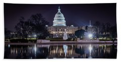 Capitol Reflects Beach Towel