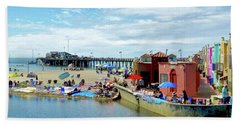 Capitola Begonia Festival Weekend Beach Towel