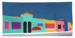 Capitola Venetian- Art By Linda Woods Beach Towel