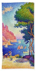Capo Di Noli Beach Towel