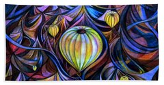 Cappadocia Sunrise Beach Towel by Anna Duyunova