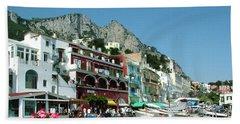 Capri Beach Towel by Donna Corless