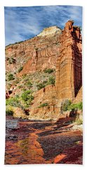 Caprock Canyon Cliff Beach Towel