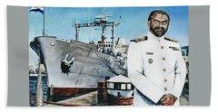 Capt Eric Green Beach Sheet by Tim Johnson