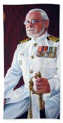 Capt John Lamont Beach Towel