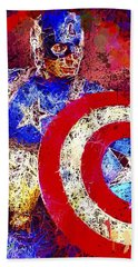 Captain America Beach Sheet