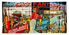 Captain Fantastic - Pinball Beach Towel