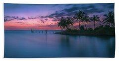 Captiva Sunset Beach Towel