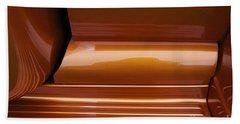 Caramel Abstract Beach Sheet