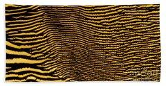 Interlaced Lines Beach Towel