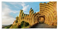 Carcassonne's Citadel, France Beach Towel