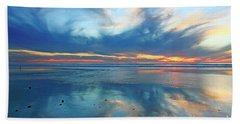 San Elijo Sky Beach Towel
