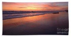 Cardiff To Encinitas  Beach Towel
