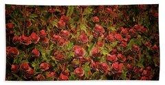 Cardinal Richelieu Roses Beach Sheet