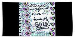 Caregiver Joy Beach Sheet by Carole Brecht