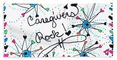 Caregivers Rock Beach Sheet