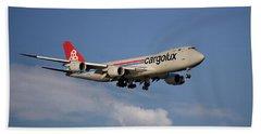 Cargolux Boeing 747-8r7 4 Beach Towel