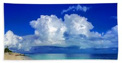 Caribbean Clouds Beach Sheet