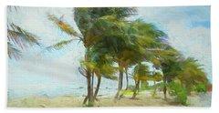 Caribbean Getaway Beach Towel