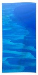 Caribbean Ocean Mosaic  Beach Sheet by Jetson Nguyen