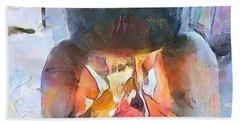 Caribbean Scenes - Fireside / Chulha Beach Sheet
