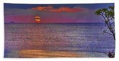 Caribbean Sunset Beach Sheet