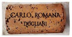 Carlo Romana Dogliani Beach Towel