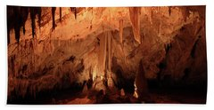 Beach Towel featuring the photograph Carlsbad Caverns 2 by Marie Leslie