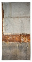 Carlton 14 - Abstract Concrete Wall Beach Towel