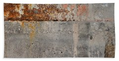 Carlton 16 Concrete Mortar And Rust Beach Towel
