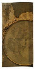 Carlton 3 - Abstract Concrete Beach Towel