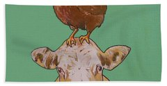 Carlyle The Cow Beach Towel