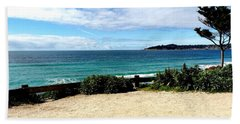 Carmel By The Sea Beach Towel