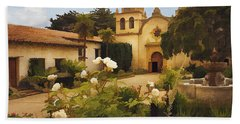 Carmel Mission Beach Towel