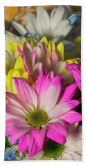 Carnations Beach Towel by Ester Rogers