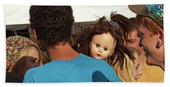 Beach Sheet featuring the photograph Carnival Adoption by Joe Jake Pratt