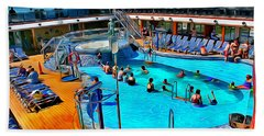 Carnival Pride Pool Beach Sheet