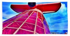Carnival Pride Stack Beach Towel