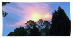Carolina Summer Sky Beach Towel