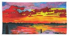 Carolina Sunset Beach Towel