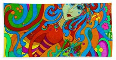 Carousel Dance 2016 Beach Towel by Alison Caltrider