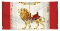Carousel Dreams - Roaring Lion Beach Towel