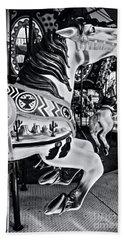 Carousel Of Despair 7 Beach Towel by James Aiken