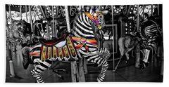 Carousel Zebra Series 2222 Beach Sheet