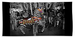 Carousel Zebra Series 2222 Beach Towel