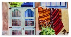 Carpets By The Gate Beach Towel